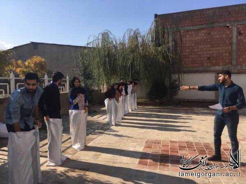 برگزاری مسابقات به مناسبت روز دانشجو